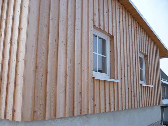 Fassaden Goebel Holzbau
